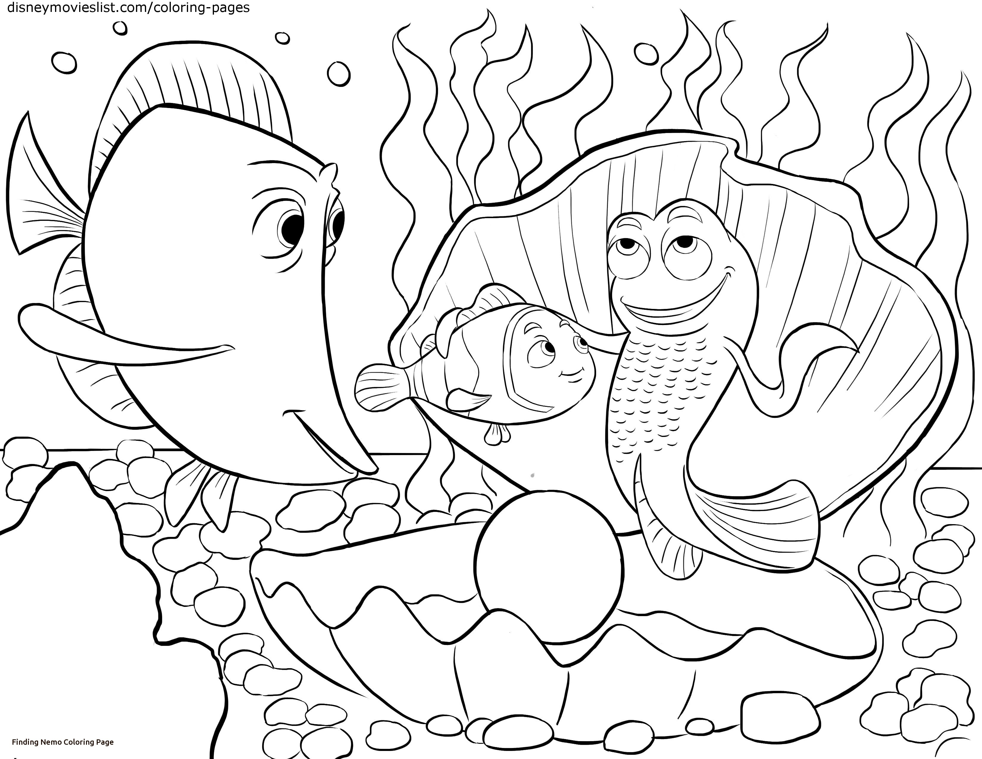 3300x2550 Nemo Coloring Page Disney S Finding Nemo Coloring Pages Sheet Free