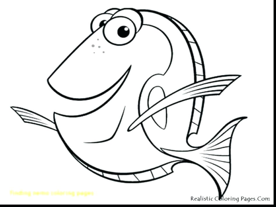 948x711 Finding Nemo Coloring Pages Icontent