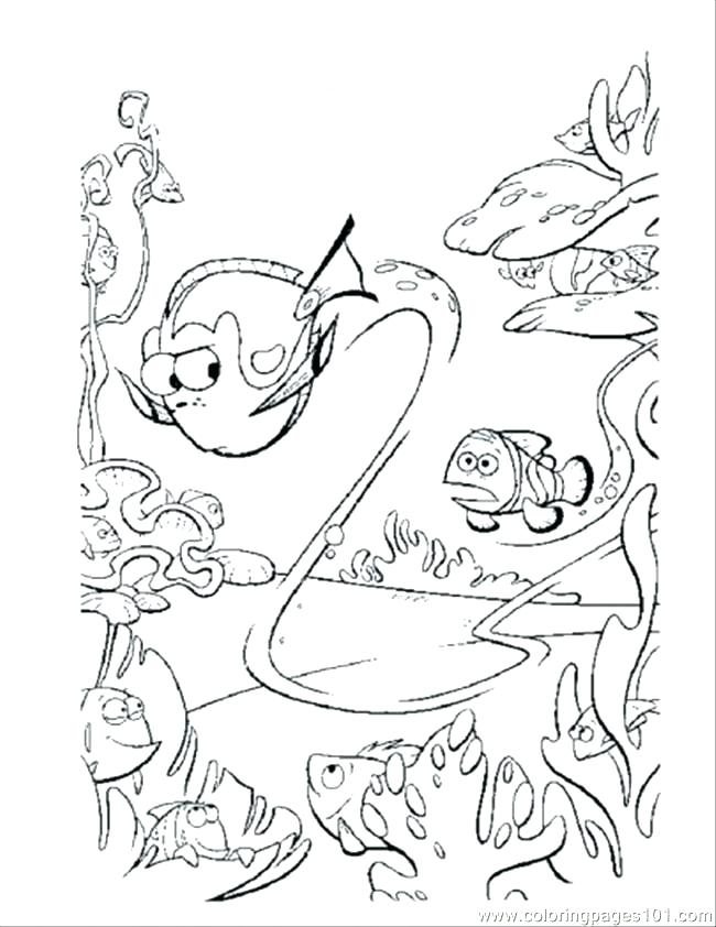 650x842 Dory Finding Nemo Coloring Pages Coloring Pages For Kids Finding