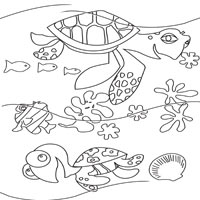 200x200 Nemo Coloring Pages Surfnetkids