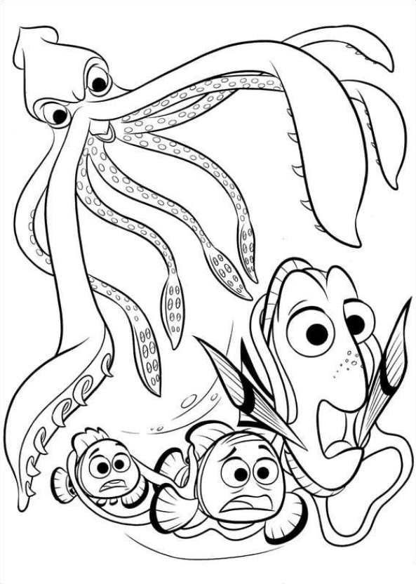 Finding Nemo Printable Coloring Pages at GetDrawings ...