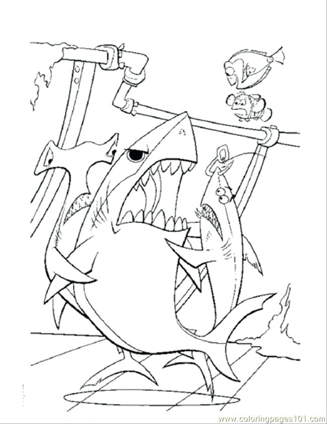 650x842 Coloring Pages Nemo Dory And Marlin Meet The Whale In Finding