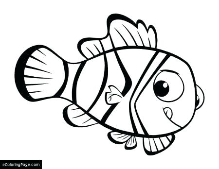 450x348 Finding Nemo Color Pages Coloring Pages Finding Dory Coloring Page