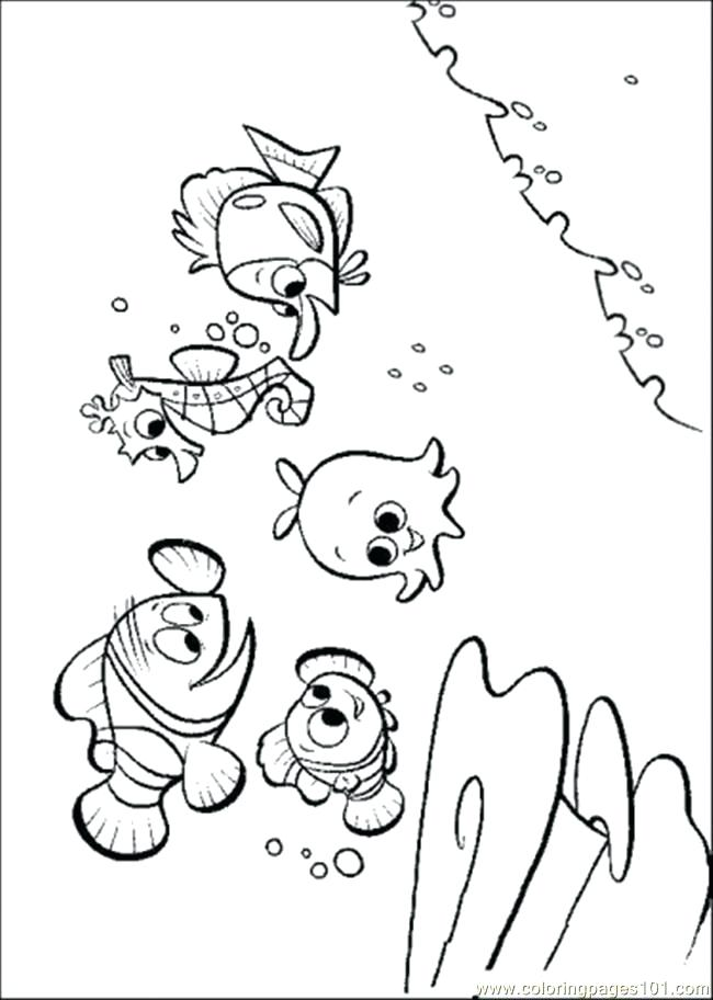 650x912 Finding Nemo Printable Baby Shower Invitations Coloring Pages