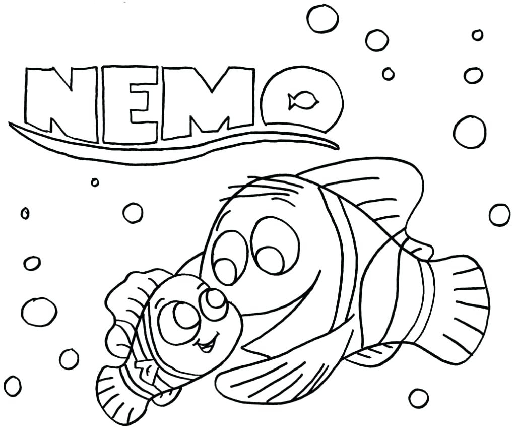 1024x853 Printable Coloring Nemo Coloring Page Free Coloring Pages Download