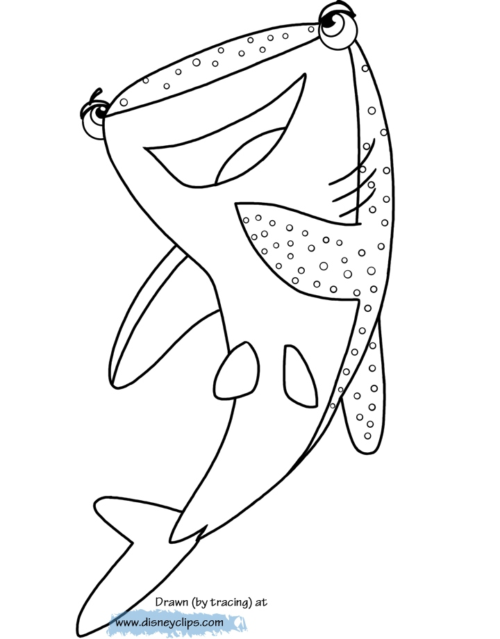 720x920 Dory Coloring Pages Luxury Finding Dory Printable Coloring Pages