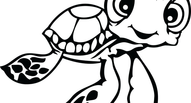 728x393 Finding Nemo Coloring Pages