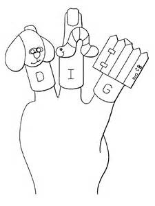 225x300 Family Finger Puppets Printable Photos, Finger Family Coloring