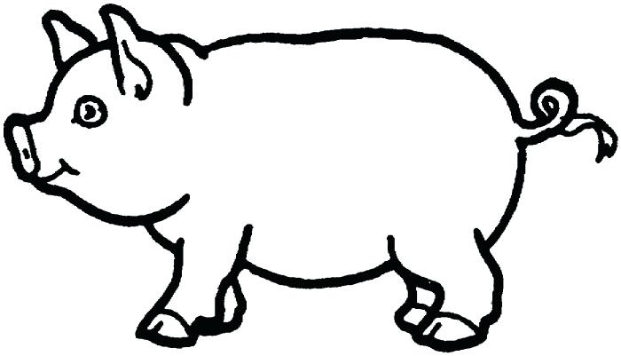 700x401 Pig Coloring Pages Pig Printable Coloring Pages Pig Colouring Page
