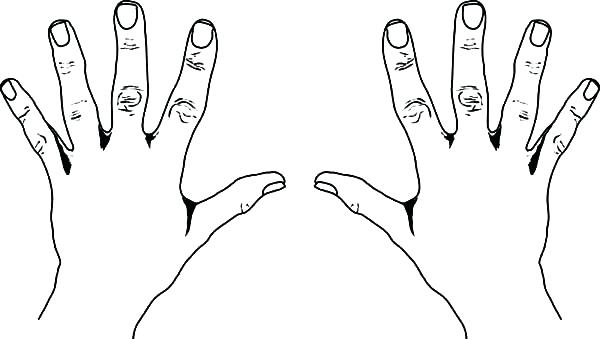 600x339 Finger Coloring Page Picture Coloring Pages Of A Fingerprint