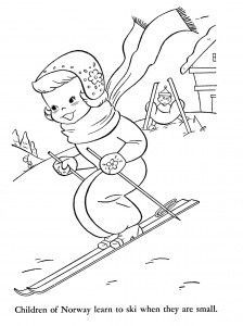 224x300 Winter Coloring Page Emb