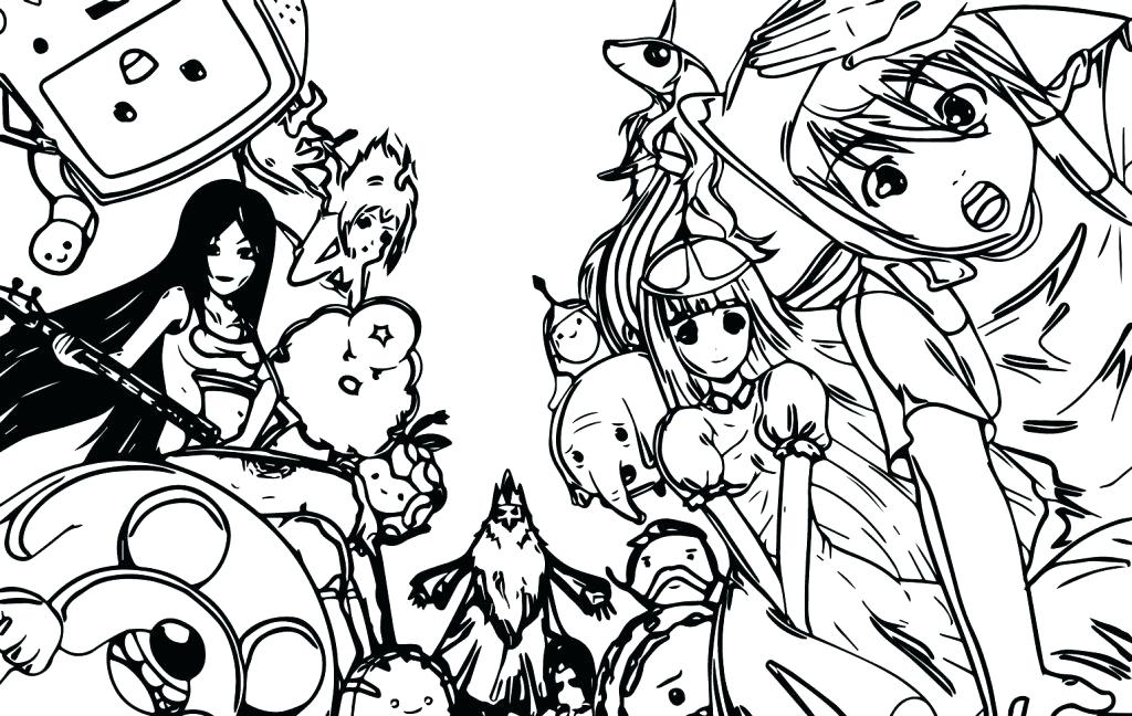 1024x648 Adventure Time Finn Jake Coloring Pages Print Cartoon Network