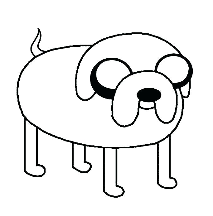 683x693 Finn Y Jake Para Colorear Best Adventure Time Images