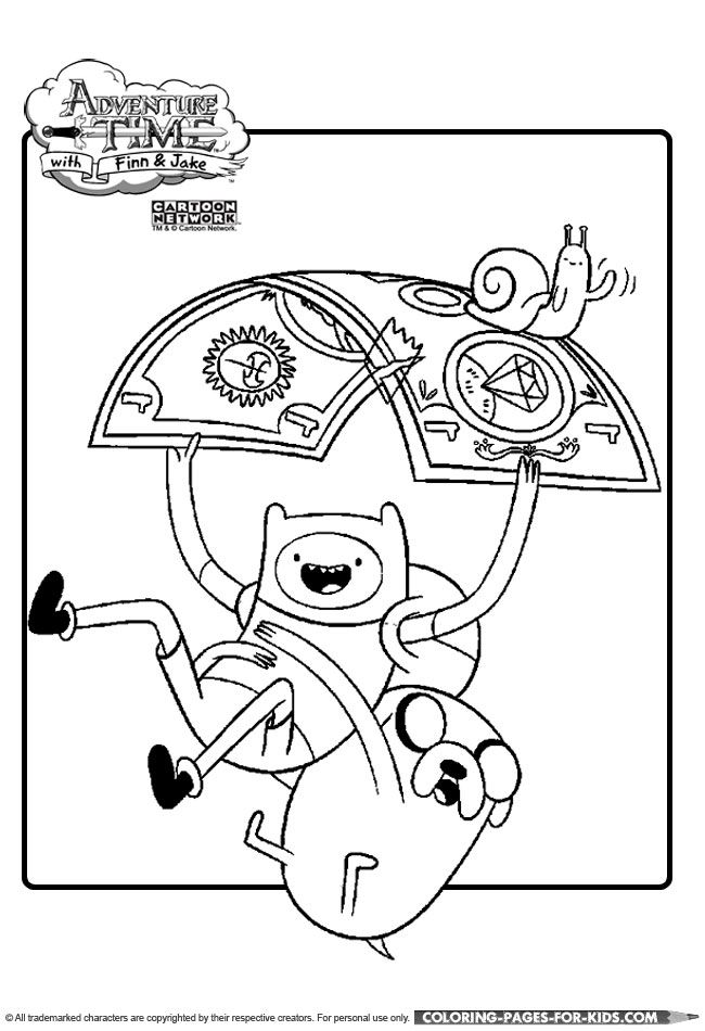 650x950 Adventure Time, Finn And Jake Coloring Page Crafty