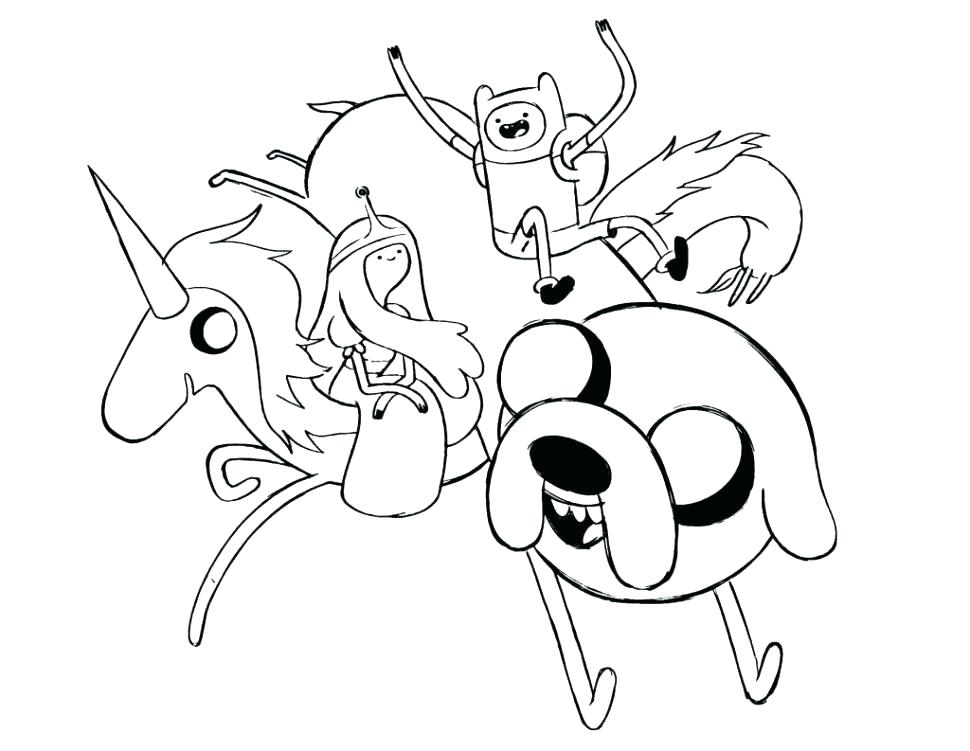 970x751 Finn And Jake Coloring Pages Adventure Finn And Jake Online