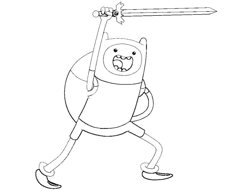 800x667 Adventure Time Coloring Pages Random Adventure Time
