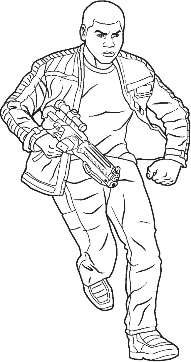 650x1230 Polkadots On Parade Star Wars The Force Awakens Coloring Pages