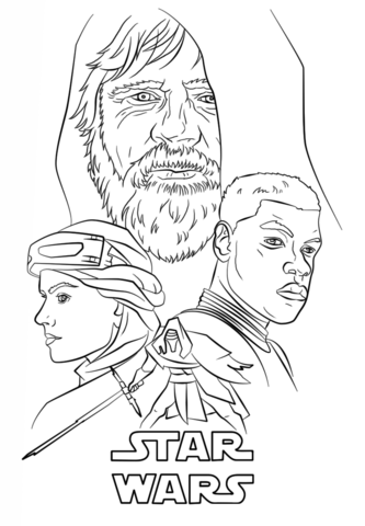 333x480 Star Wars Coloring Sheets Rey Best Of Finn Pages Hellokids