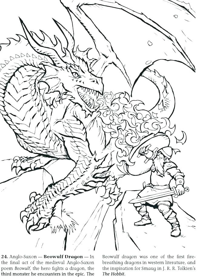 650x920 Fire Breathing Dragon Coloring Pages Elegant Coloring Pages