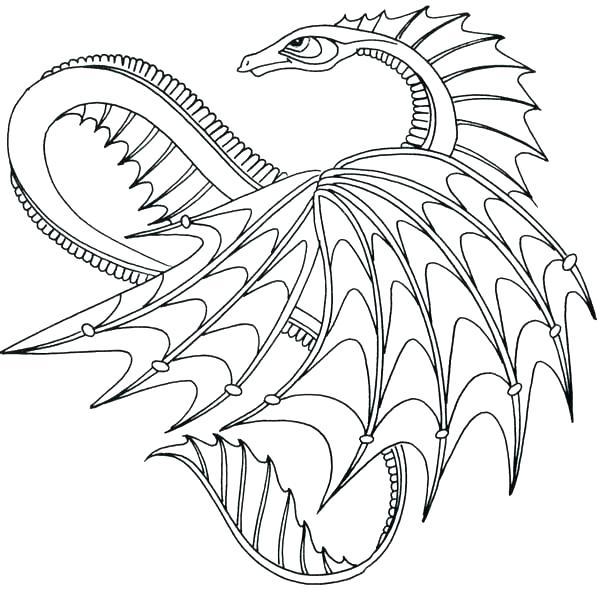600x600 Fire Breathing Dragon Coloring Page Dragon Coloring Pics How