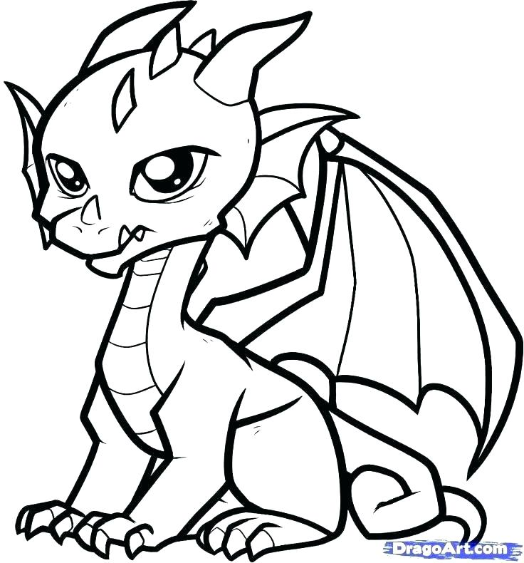 736x790 Fire Breathing Dragon Coloring Pages Many Interesting Coloring