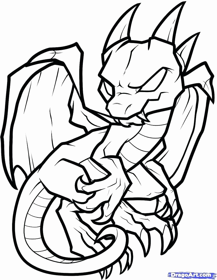 736x949 Free Online Dragon Coloring Pages Image Fire Breathing Dragon