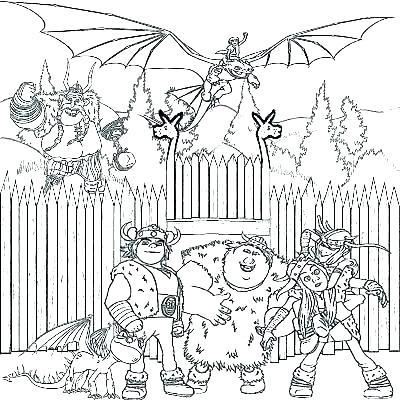 400x400 Fire Breathing Dragon Coloring Pages