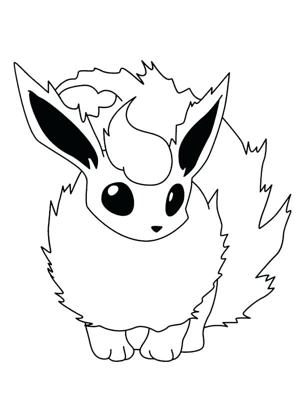 600x809 Flareon Coloring Pages Coloring Pages Unique Fire Coloring Pages