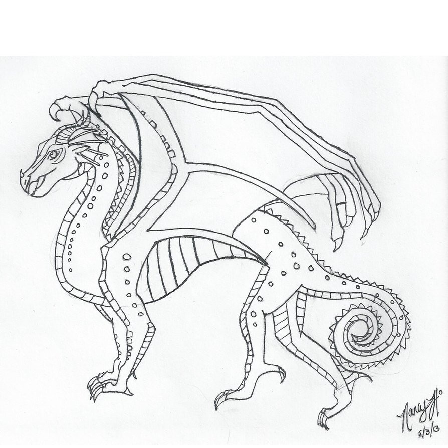 894x894 Wealth Wings Of Fire Coloring Page Pages Im