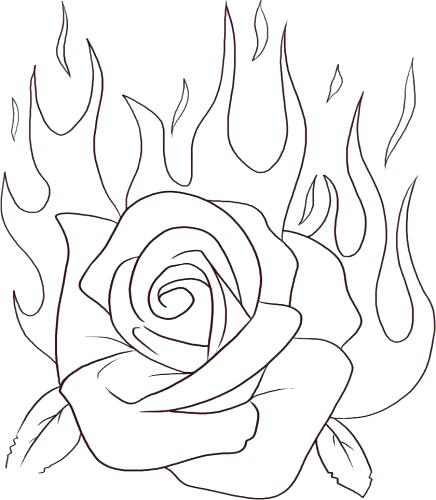 436x500 Coloring Pages Fire Coloring Pages Preschool Fire Coloring Pages