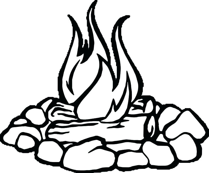 805x664 Fireman Coloring Page Fire Coloring Pages Fire Coloring Page Large