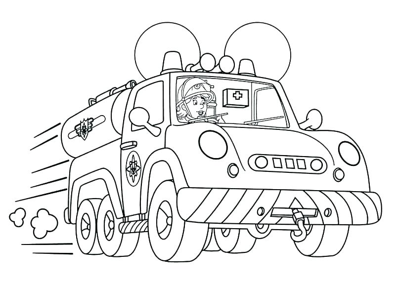 805x575 Fireman Coloring Page Firefighter Coloring Page Firefighter