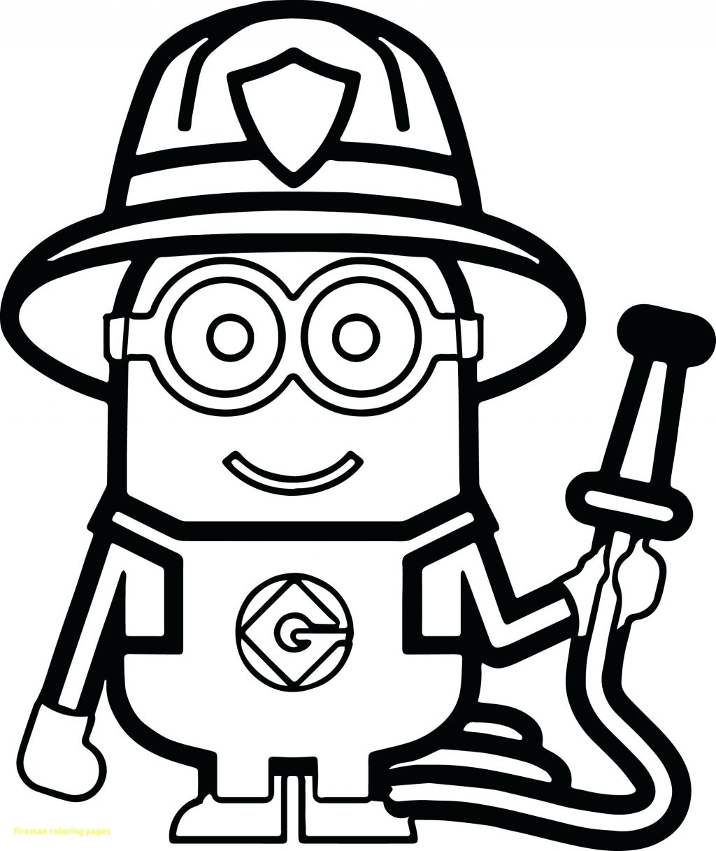 1024x1217 Coloring Pages Fireman Coloring Pages Activity Work