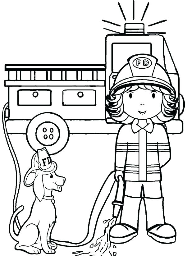 618x824 Fire Coloring Fire Prevention Week Coloring Pages Printable