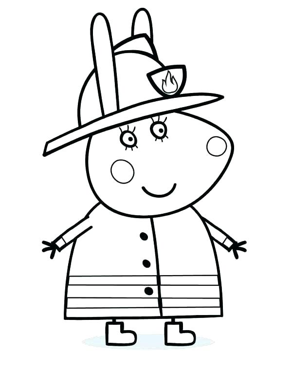 600x764 Fire Prevention Coloring Pages Fire Department Coloring Pages Fire