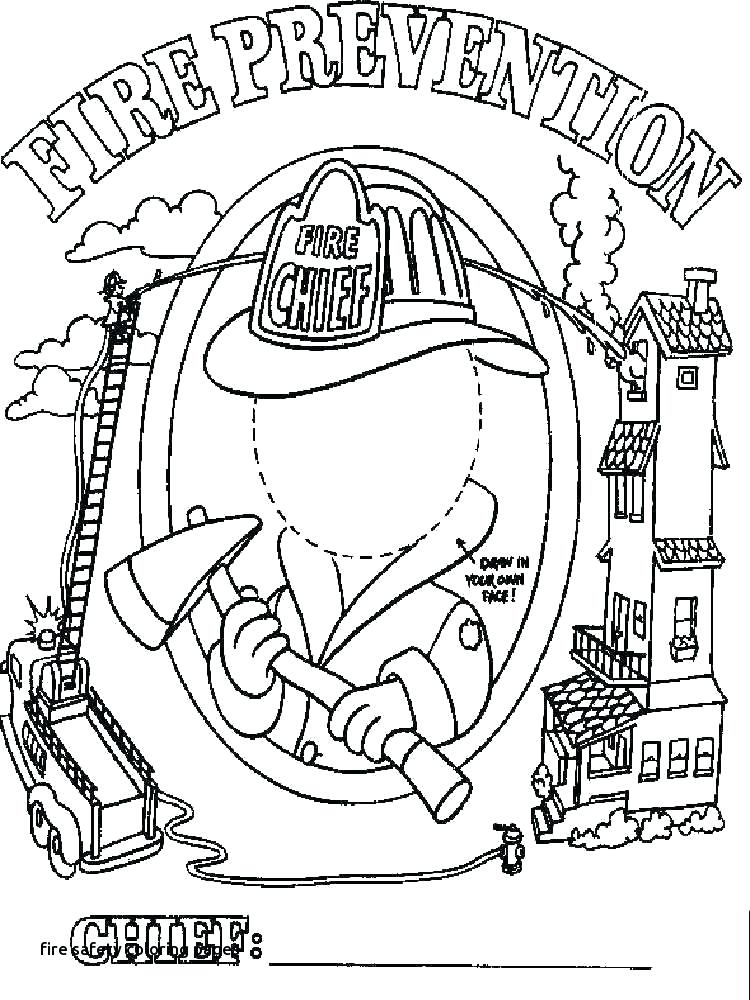 750x1000 Fire Safety Coloring Pages Fire Department Coloring Pages Fire