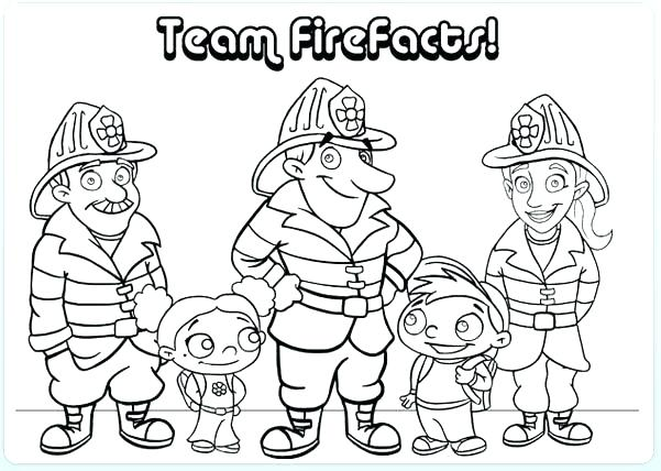 601x428 Fire Department Coloring Pages Cross Fire Dept Coloring Pages Free