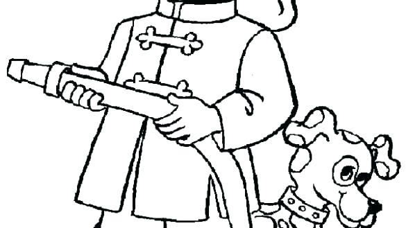585x329 Fire Dog Coloring Pages