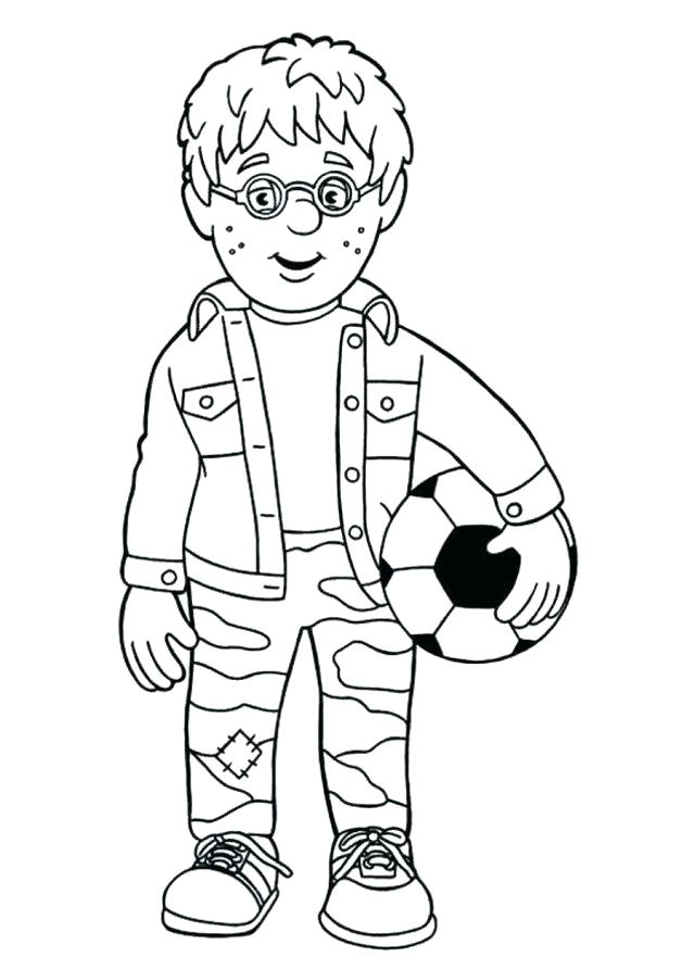 640x881 Fire Fighter Coloring Page Fireman Coloring Sheets Firefighter