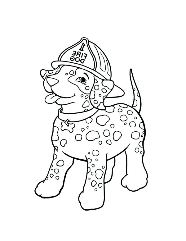 600x776 Fire Hydrant Coloring Page Fire Dog Coloring Page Free Printable