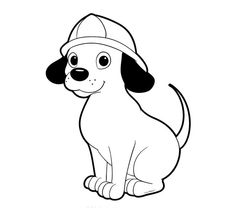 236x216 Firedog Clifford Coloring Page Children's Stuff