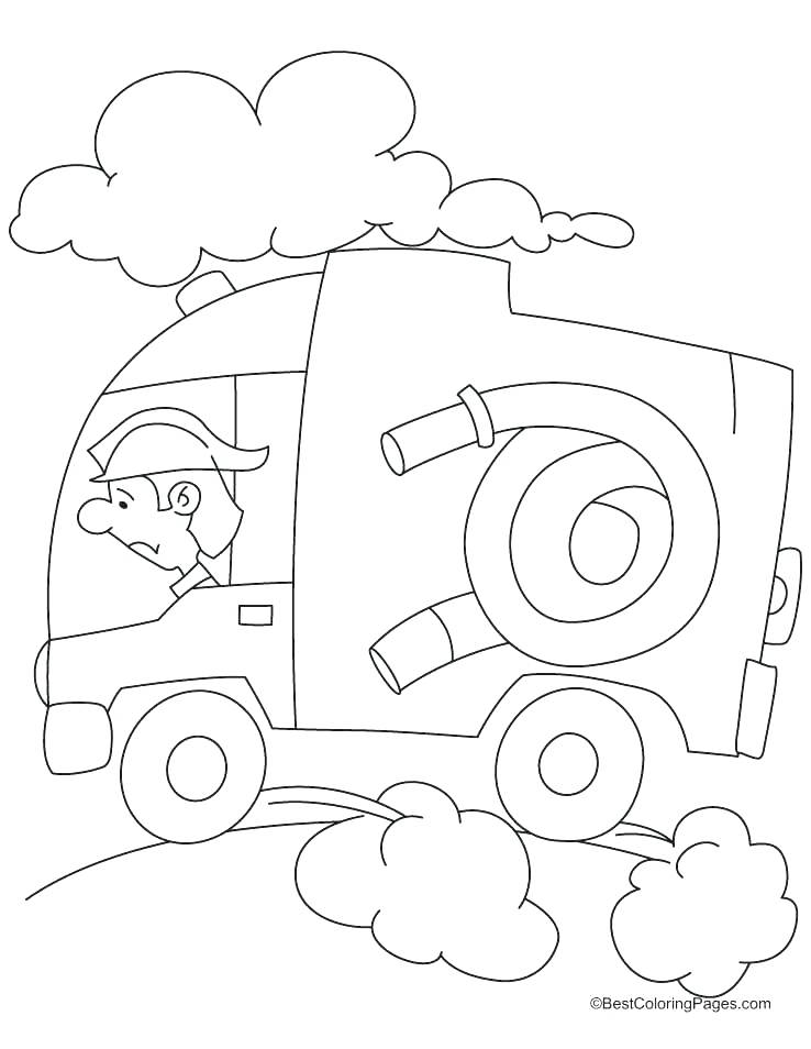 738x954 Fire Extinguisher Coloring Page Fire Extinguisher Fire