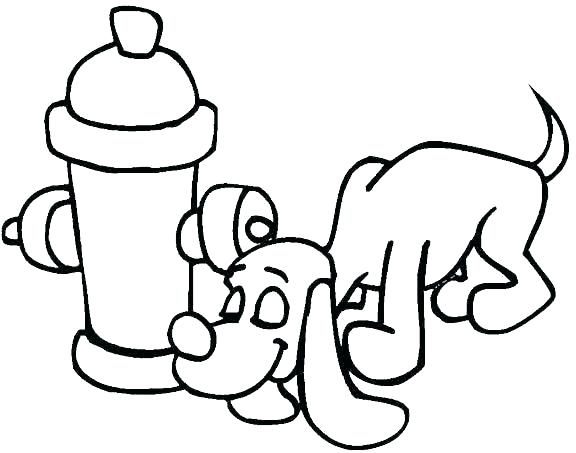576x453 Coloring Fire Extinguisher Coloring Page Cross And Firefighter