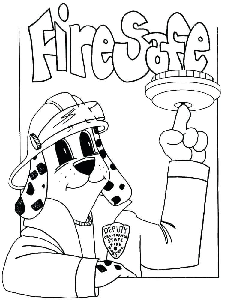 750x1000 Coloring Fire Extinguisher Coloring Page Hydrant Pages Sheet