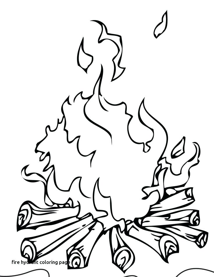 736x952 Fire Extinguisher Coloring Page
