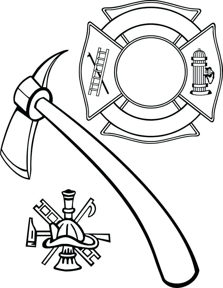 736x952 Fire Hydrant Coloring Pages