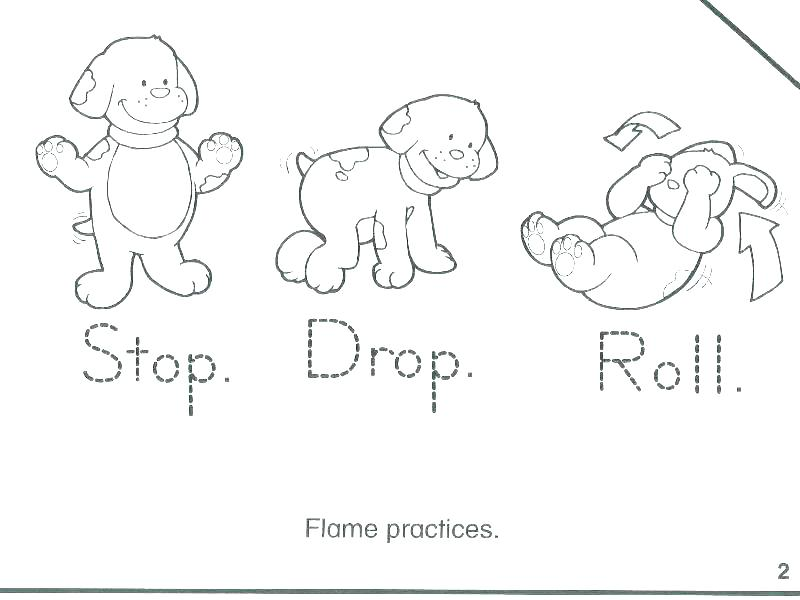 800x600 Fire Prevention Coloring Pages