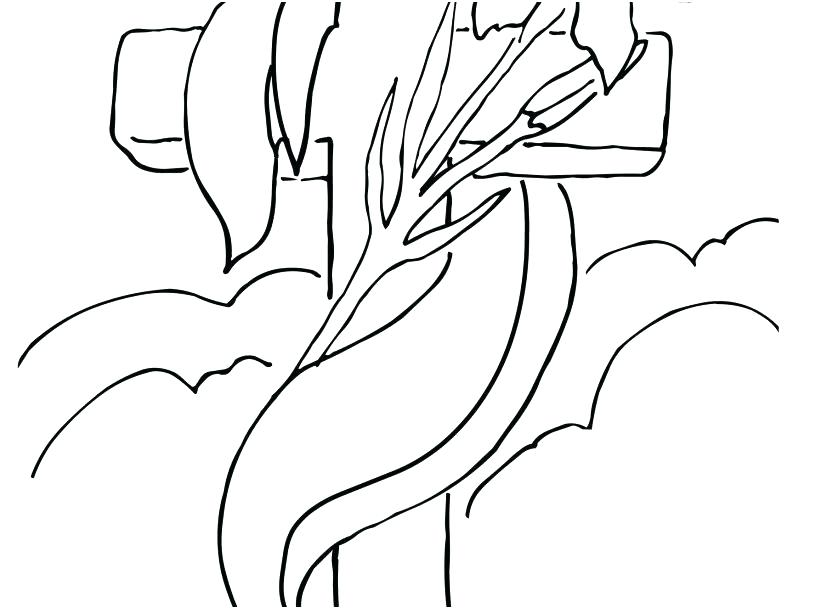 827x609 Coloring Page Cross Fire Extinguisher Coloring Page Cross