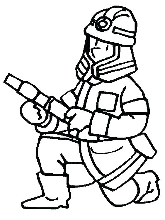 563x750 Fireman Coloring Page Fire Fighter Coloring Pages Beautiful