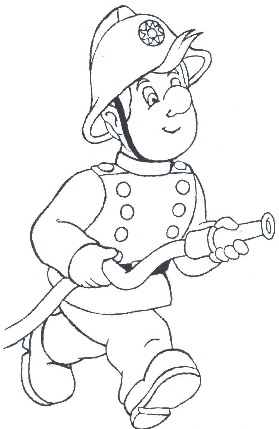 896x1376 Fresh Firefighter Coloring Page Gallery Printable Coloring Sheet